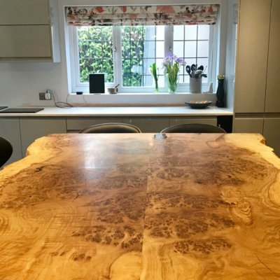 Wood Resin Table